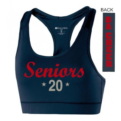 Bel Air Cheerleading class of 2020 Sports Bra