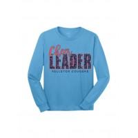 Cougar Cheer Leader long sleeve tee