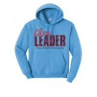 Cougar Cheer Leader Hooded Sweatshirt