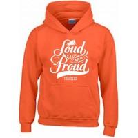 Cougar's Loud and Proud Hooded orange sweatshirt
