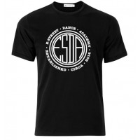 E-Street circle logo t-shirt black