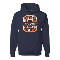 Fallston Cougars Big C spirit hoody