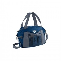 Cougars cruise duffel with monogram initials