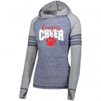 Fallston Cougars Ladies advocate hoody  (light weight)