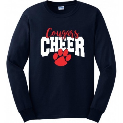 Fallston Cougars long sleeve practice tee