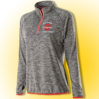 Cougars Ladies Training Day quarter zip with embroidery