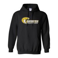 Harford Tech Track & Field black hoody