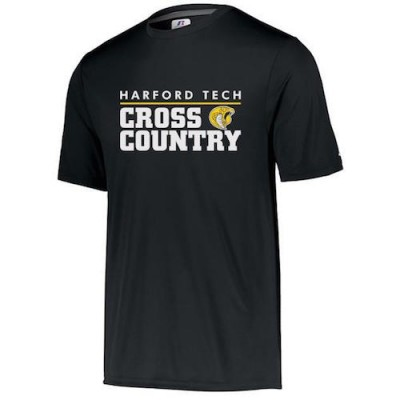 Harford Tech Cross Country Tee  black