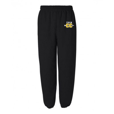 Harford Tech Cross Country Pocketed Sweatpant ( Black)