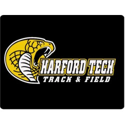 Harford Tech Track & Field Button