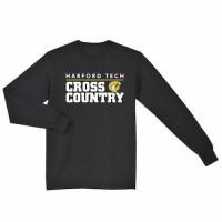 Harford Tech Cross Country  long sleeve t-shirt  black
