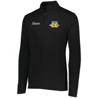 Harford Tech Mens quarter Zip pullover ( black)