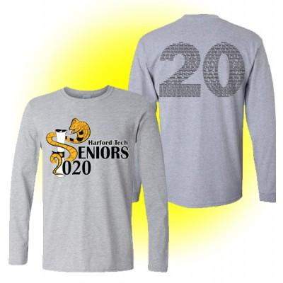 Harford Tech Class of 2020 long sleeve gray tee
