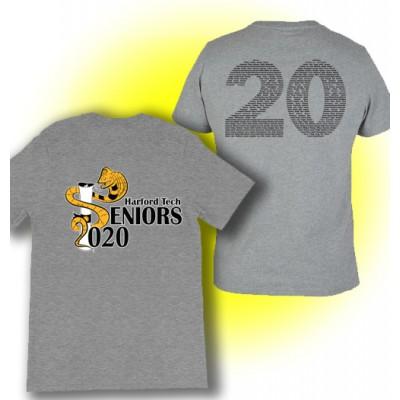 Harford Tech Class of 2020 gray t-shirt