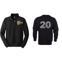Harford Tech Class of 2020 quarter zip sweatshirt
