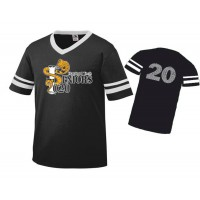 Harford Tech Class of 2020 Retro Football tee black/white