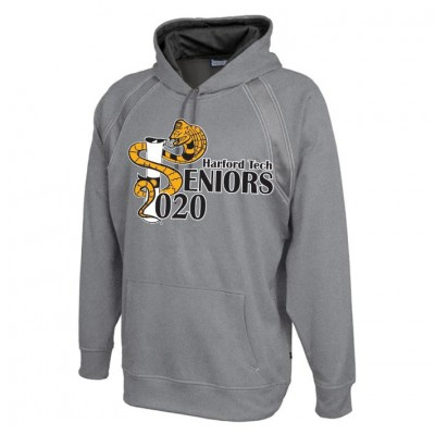 Harford Tech Class of 2020 carbon gray Performance Fleece