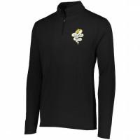 Harford Tech Graphics Mens quarter Zip pullover ( black)