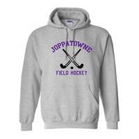 Joppatowne Field hockey hooded sweatshirt gray ( front only)