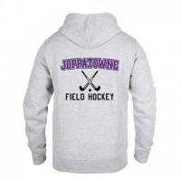 Joppatowne Field hockey hooded sweatshirt gray ( front and back)
