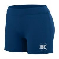 *Harford Cheerleading spandex short with RHINESTONE logo (outfit)