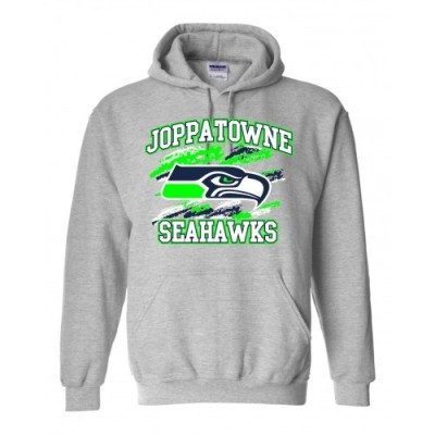Joppatowne Seahawks Hooded Sweatshirt (Gray)
