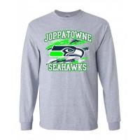 Joppatowne Seahawks long sleeve t-shirt (Gray)