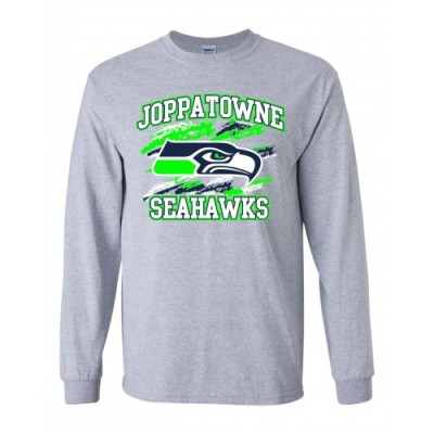Joppatowne Seahawks long sleeve t-shirt (Gray)