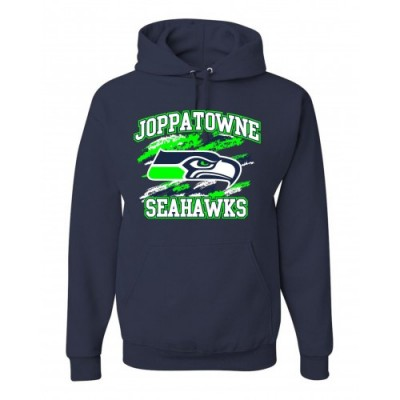 Joppatowne Seahawks Hooded Sweatshirt ( navy)
