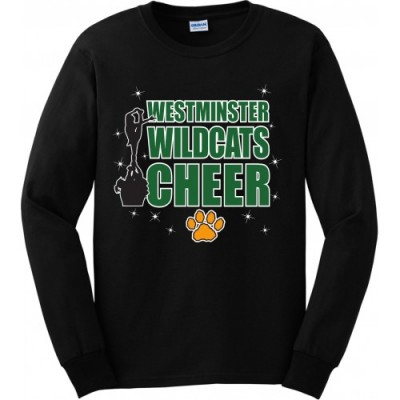 Westminster Wildcats long sleeve stunt tee