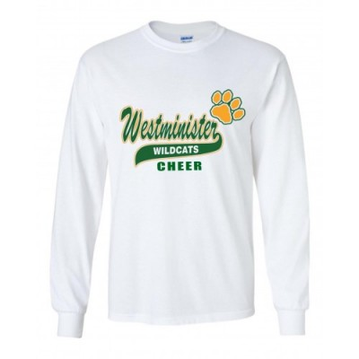 Westminster Wildcats cheer long sleeve 2
