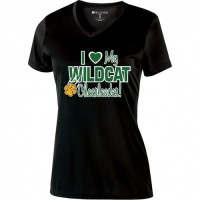 Westminster Wildcats love v-neck