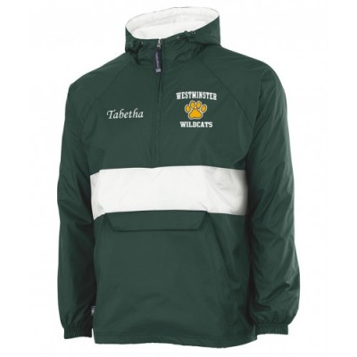 Westminster Wildcats embroidered pullover ( green)