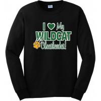 Westminster Wildcats long sleeve love tee