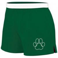 Wildcats  Soffe rhinestone short ( green)