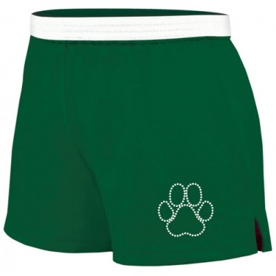 Wildcats  Soffe rhinestone short ( green)