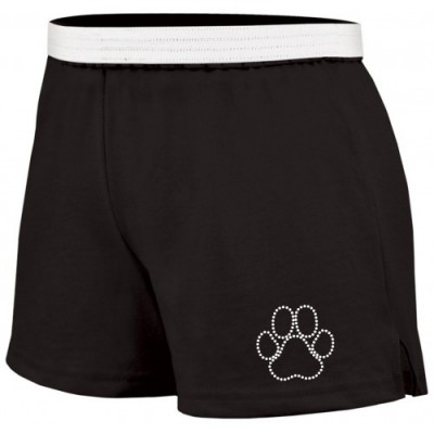 Wildcats  Soffe rhinestone short ( black)