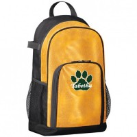 Westminster Wildcats gold glitter Backpack