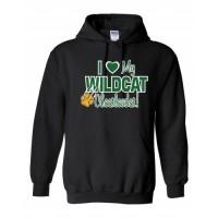Westminster Wildcats Love hoody