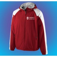 Mercy Father's Club Home field jacket with embroidered logo