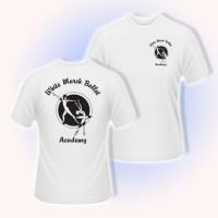 White Marsh Ballet logo t-shirt white