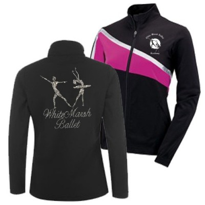 White Marsh Ballet Academy Jacket (pink)
