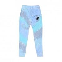 White Marsh Ballet  tie dye jogger-  lagoon blue
