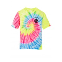 White Marsh Ballet neon rainbow tee ( front and back)