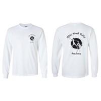 White Marsh Ballet long sleeve logo t-shirt white